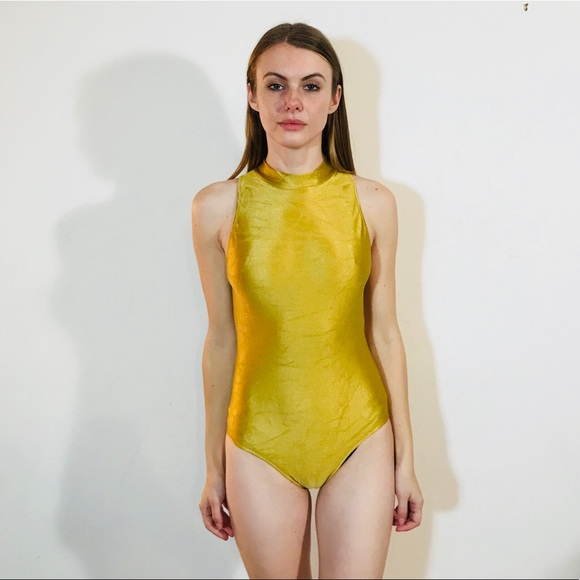 aecb069aaf Gottex Other - GOTTEX VINTAGE GOLD ONE PIECE SWIMSUIT XS  J35